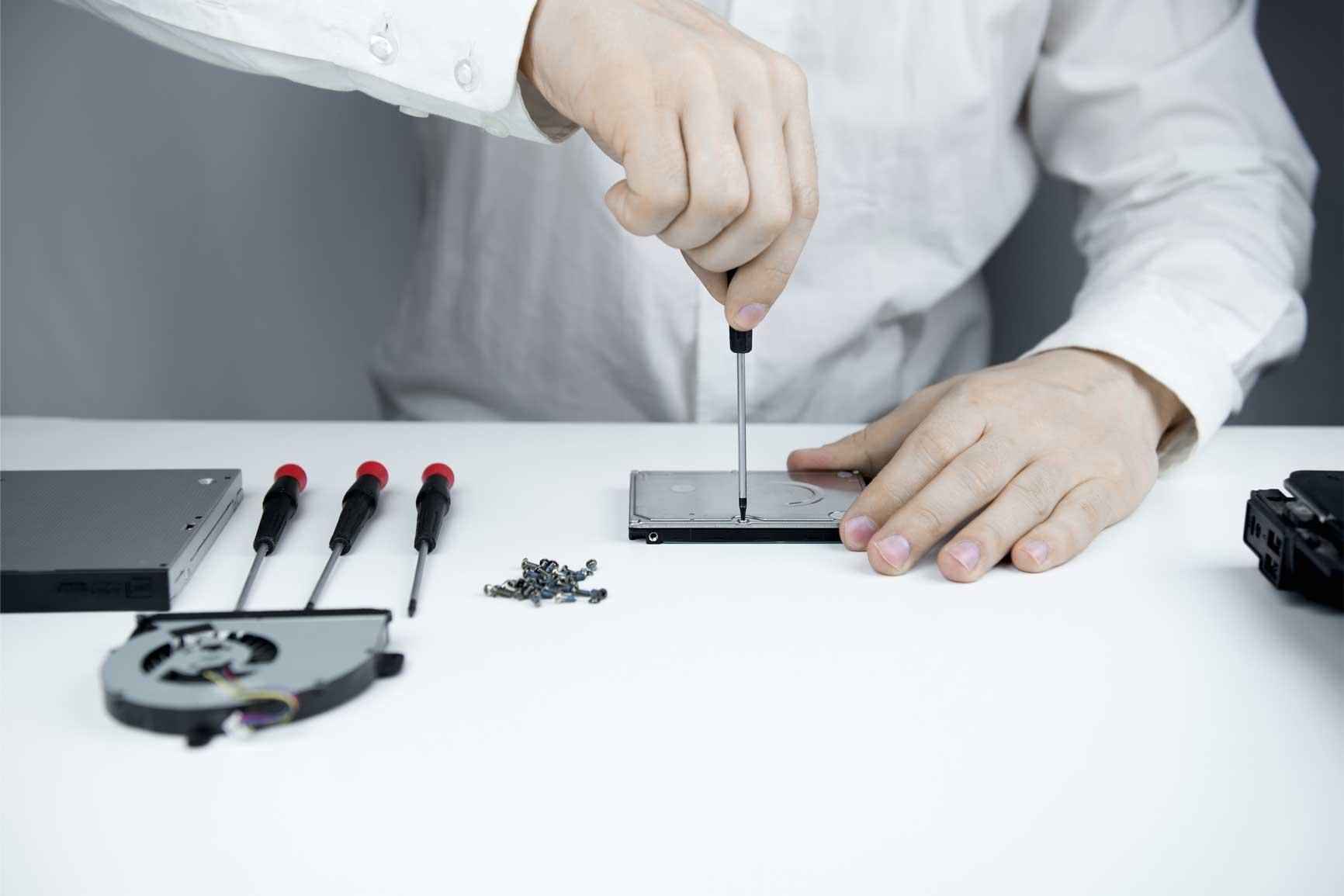 Hardware repair and upgrade